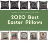 2020 best easter pillow covers 18x18