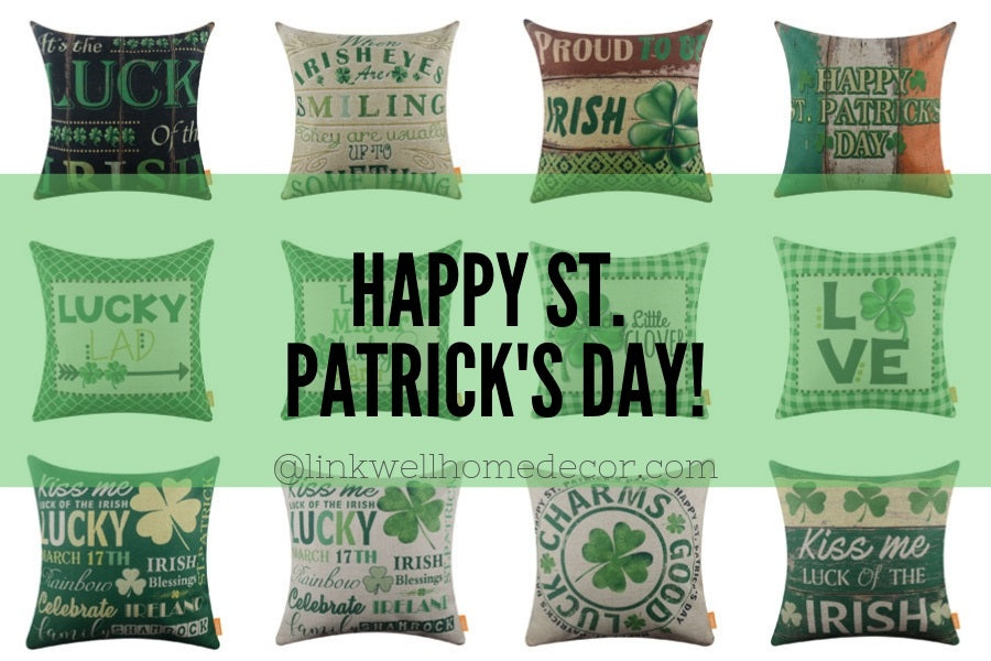 12 Best Vintage St. Patrick's Day Pillow Covers You Want To know