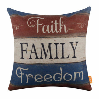 Fourth of July Pillow Cover