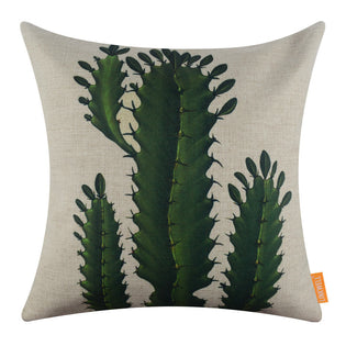 Plant pillow cover