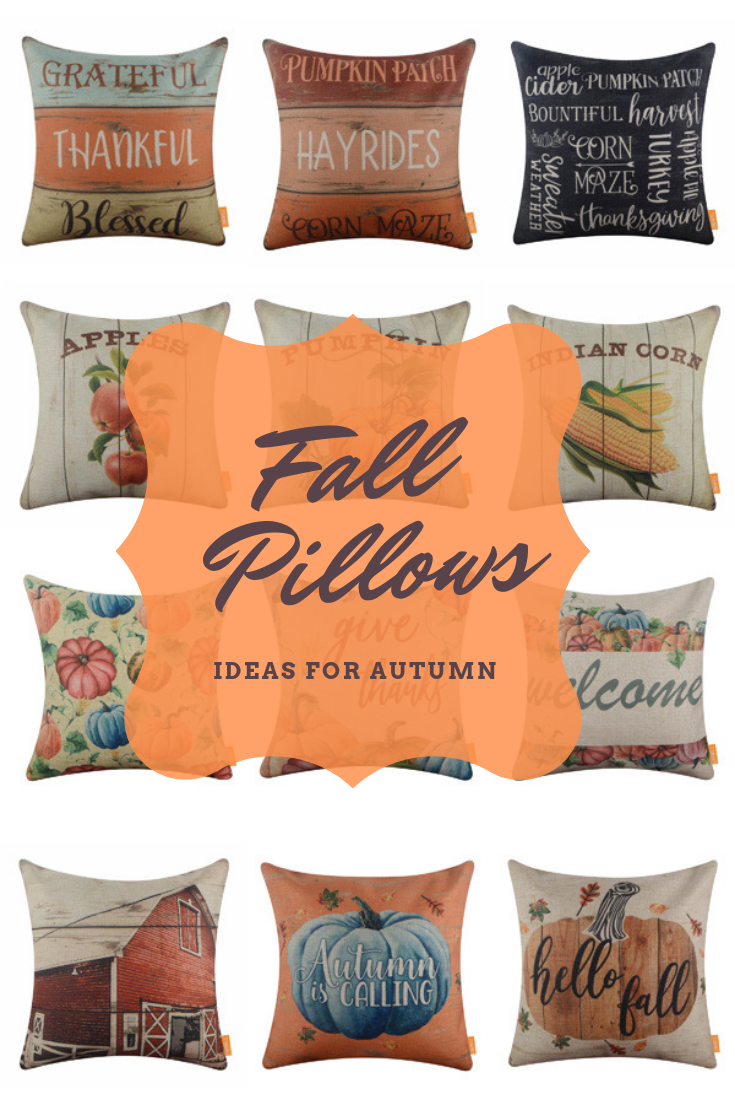 farmhouse fall pillow covers