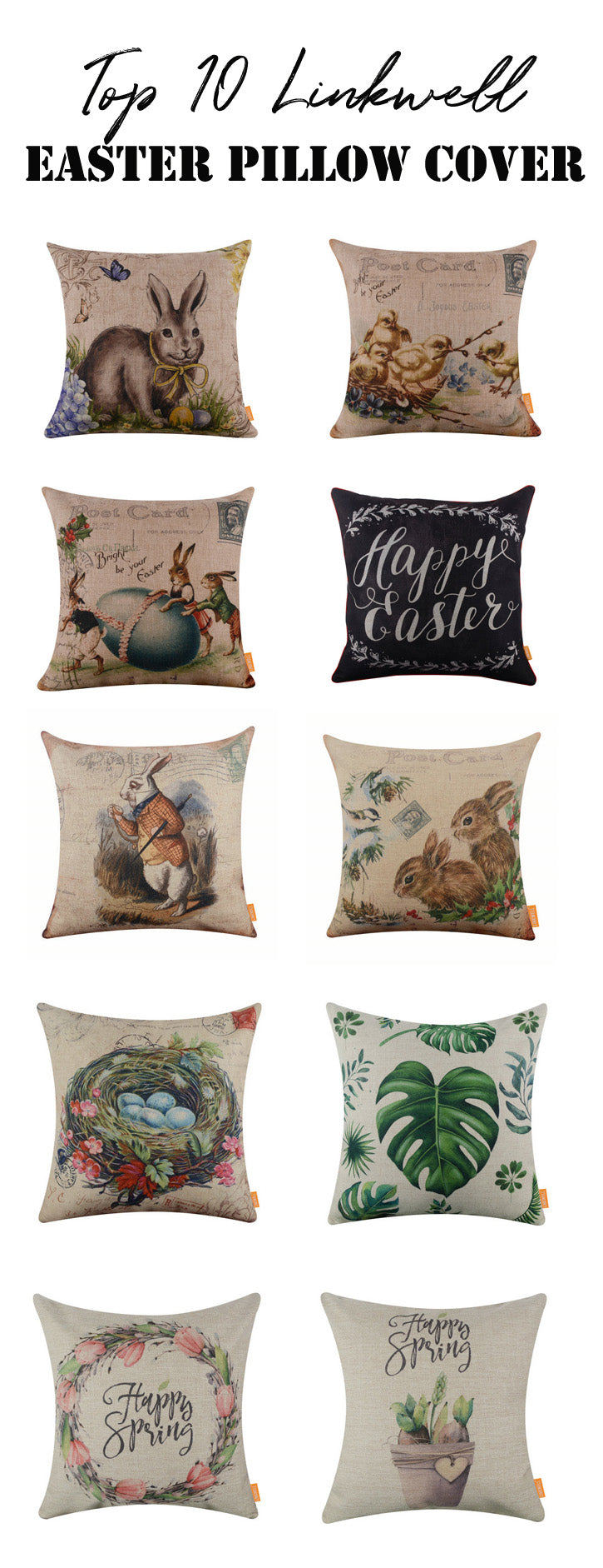 Top 10 Linkwell Easter Pillow Cover