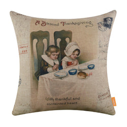 A blessed Thankgiving Pillow Cover