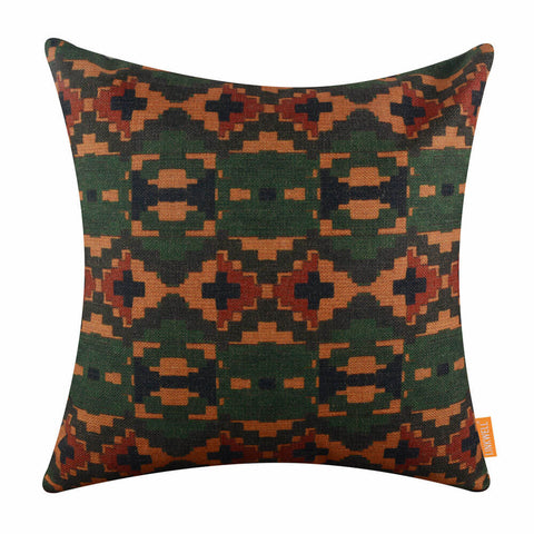Image of African Ethnical Pattern Decorative Cushion Cover
