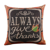 Always Give Thanks Pillow Cover