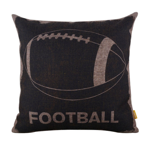 Image of American Football Large Pillow Cover for Couch