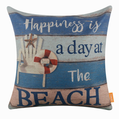 Image of Beach Chair Pillow Cover