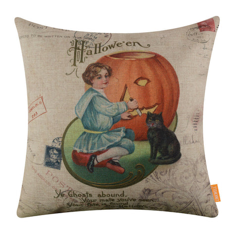 Best Halloween Pillow Cover