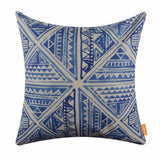 Blue Tie Dye Pillow Cover