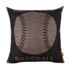 Buy Cushion Cover Online Baseball Design