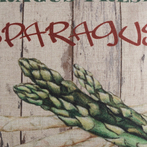 Asparagus Pallet Pillow Cover