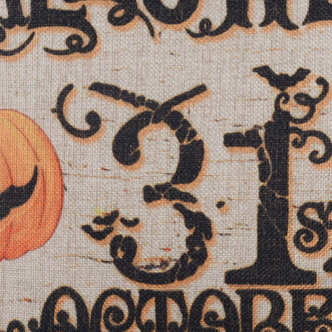Image of Halloween 31st October Decorative Pillow Case