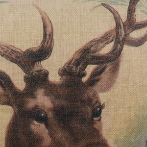 Christmas Stag Cushion Cover