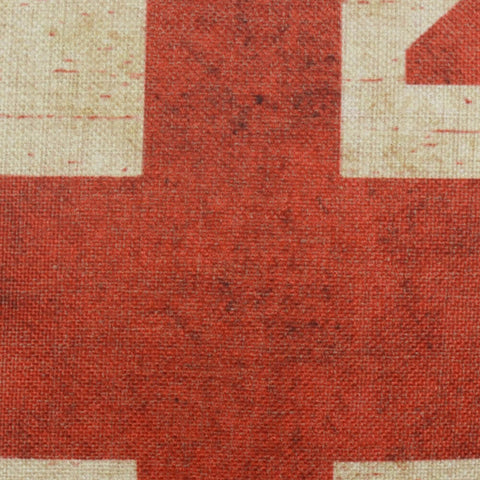 Image of Union Jack Pattern 18 x 18 Pillow Cover