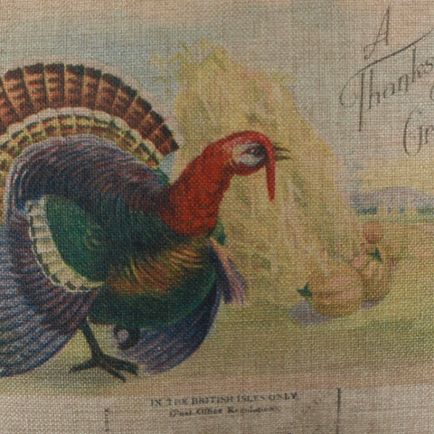 Farmhouse Look Thanksgiving Cushion Cover