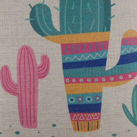 Image of Summer Cactus Pillow Cover
