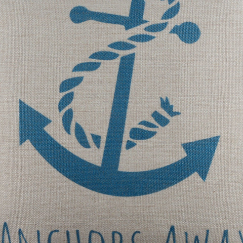 Anchors Away Decorative Pillow Cover