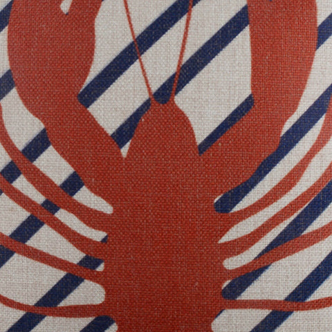 Image of Red Lobster Pillow Cover