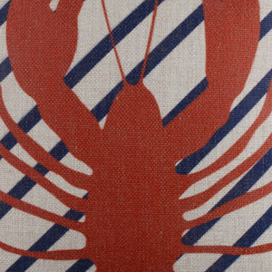 Red Lobster Pillow Cover