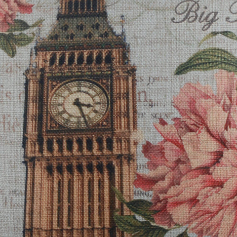 Big Ben London Pillow Cover