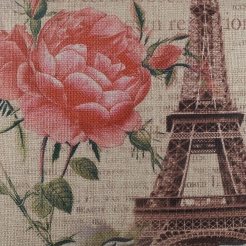 Eiffel Tower Paris Pillow Cover
