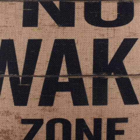 No Wake Zone Loft Pillow Cover