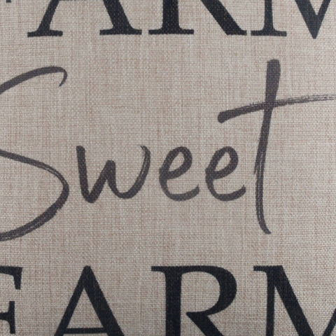 Image of Black Farm Sweet Farm Cushion Cover