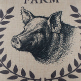 Pig Bacon Pillow Cover