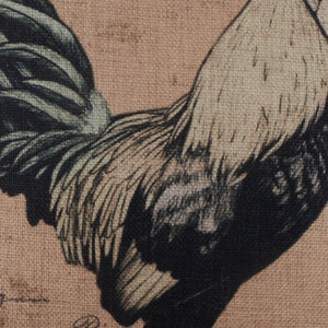 Farmhouse Style Cock Pillow Cover