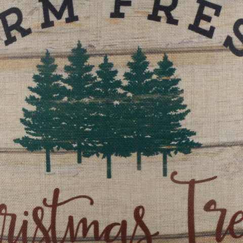 Farm Fresh Christmas Tree Pillow Cover
