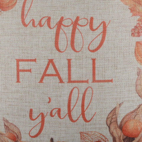 Image of Happy Fall Y'ALL Decorative Cushion Cover