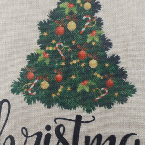 Farmhouse Farm Fresh Christmas Trees Cushion Cover