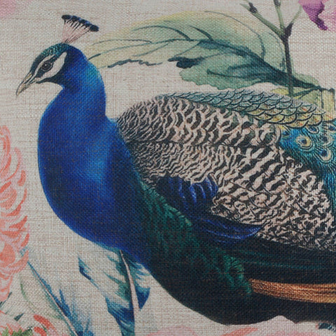 Image of Peafowl Pillow Cover Spring Decorations for Home
