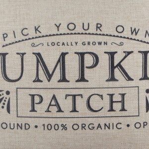 Pick Your Own Pumpkin Patch Pillow Cover for Happy Harvest Day