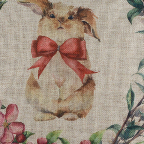 Cute Rabbit Decorative Pillow Cover for Easter Day