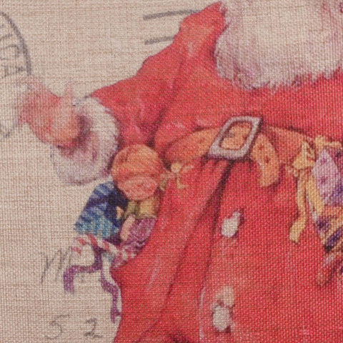 Image of Santa Claus Pillow Cover