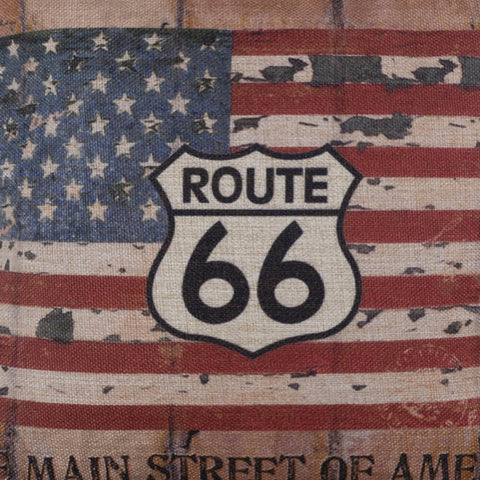Image of The Main Street of America Pillow Cover
