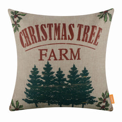 Christmas Tree Farm Pillow Cover