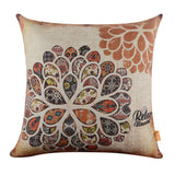 Colorful Balloon Throw Pillow Cover