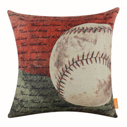 Colorful Baseball Decorative Pillow Cover