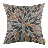 Colorful Patterned Pillow Cover