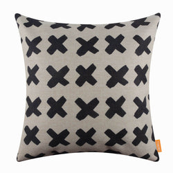 Concise Monochrome Pillow Cover