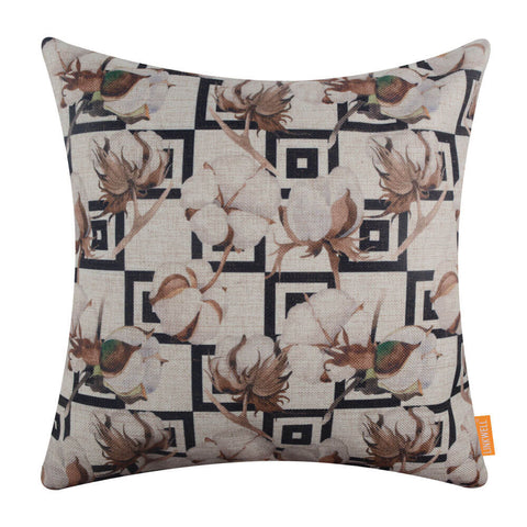 Cotton Pod Throw Pillow Covers 18x18