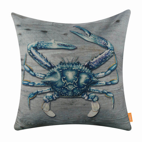 Image of Crab Decorative Pillow Cover