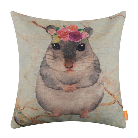 Image of Cute Animal Cushion Cover