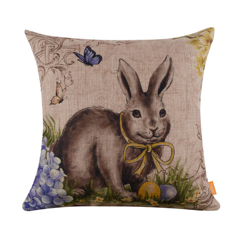 Easter Bunny Pillow Cover
