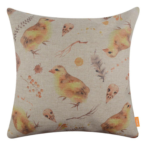 Image of Easter Chick Pillow Cover 18x18