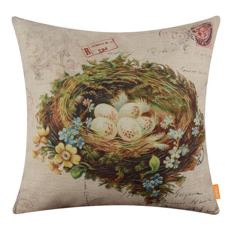 Egg Nest Buy Linkwell Pillow Cover without Duty