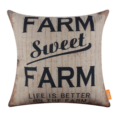 Image of Farm Sweet Farm Outdoor Cushion Cover