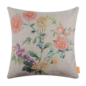 Flower Easter Pillow Covers 18x18